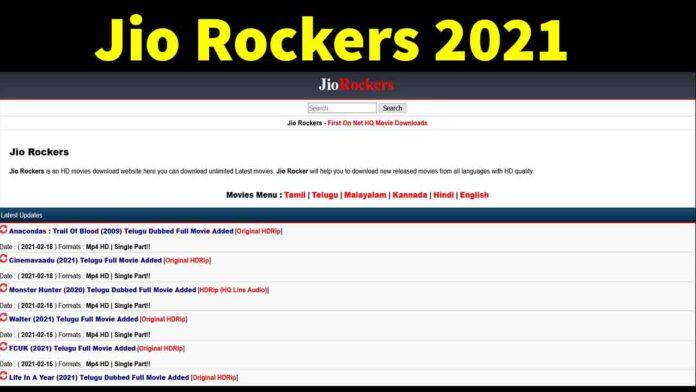 JioRockers 2021 – JioRockers Telugu HD Movies Download